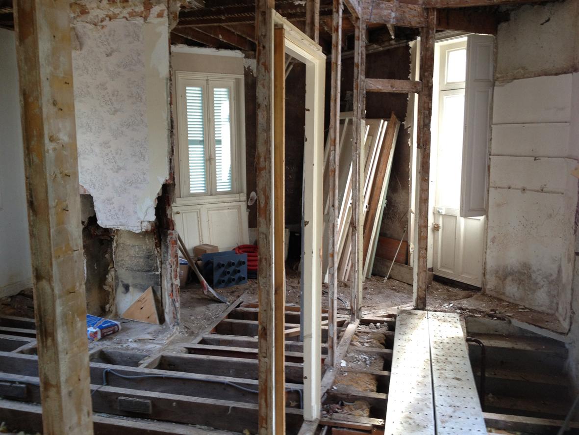 Chantier maison alangle nantes koutok architecture for Chantier architecte