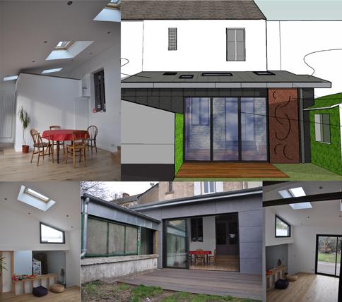 architecte extension nantes. Black Bedroom Furniture Sets. Home Design Ideas