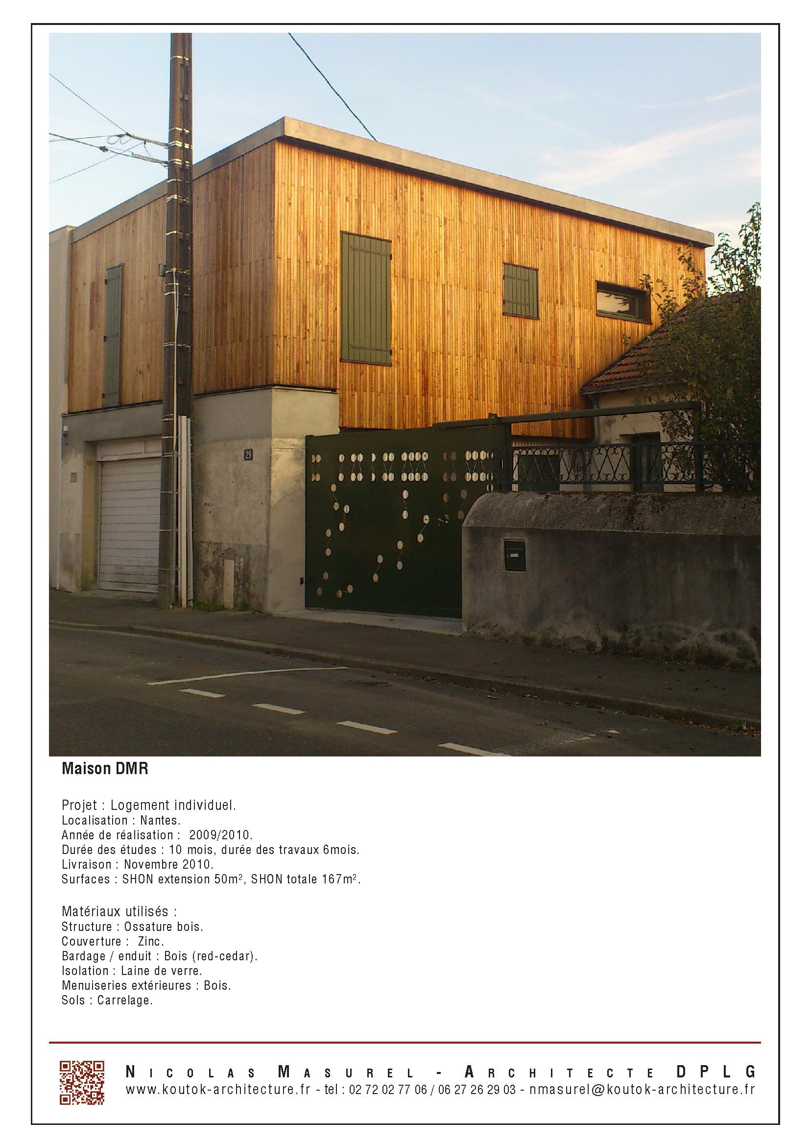 Architecte Nantes Maison Individuelle architecte nantes | koutok architecture | page 2